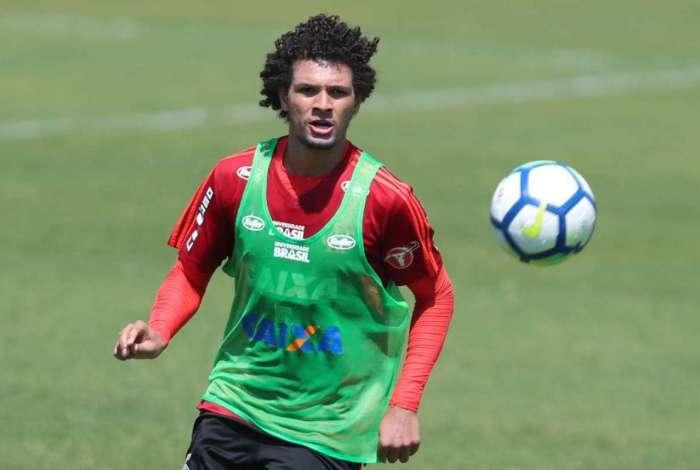 Volante do Flamengo, Willian Arão já se envolveu em duas discussões com companheiros de equipe