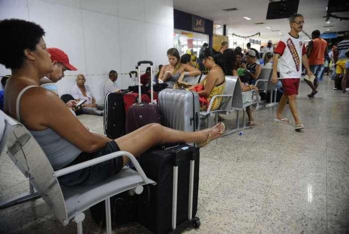 Fluxo de passageiros na Rodoviária Novo Rio ficará intenso a partir de amanhã
