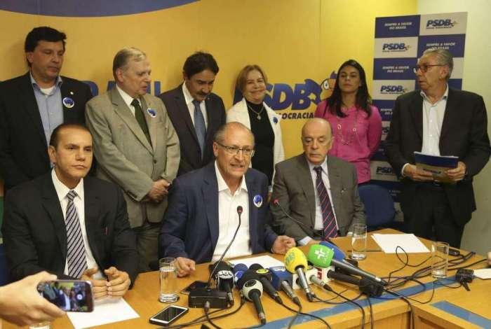 Reunião do PSDB aconteceu sob clima tenso