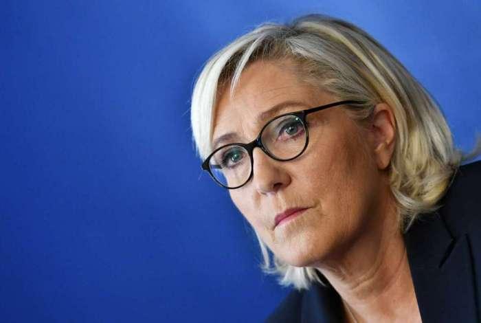 Líder da extrema direita na França, Marine Le Pen