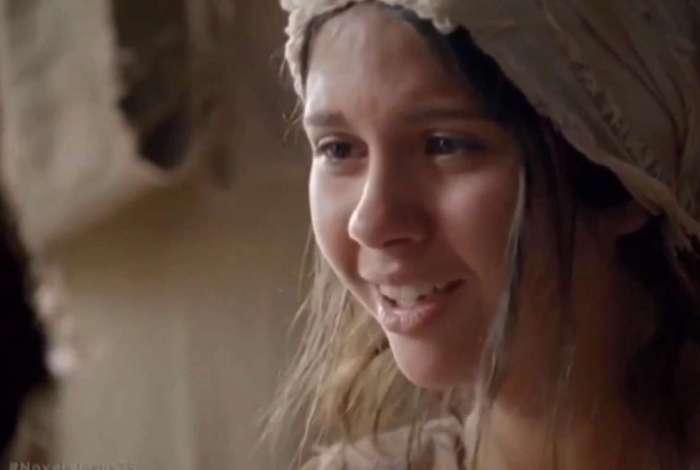 Mariana Lewis comemora sucesso de sua cena em 'Jesus'