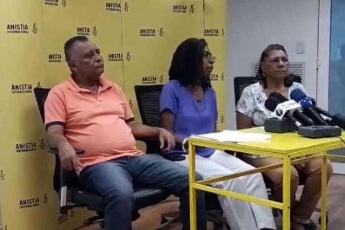 A campanha foi lançada com a presença dos pais de Marielle