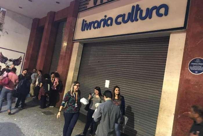 Livraria Cultura fechou as portas no Rio