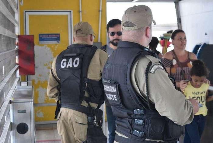Guarda Municipal registra segundo caso de importuna��o sexual na esta��o do BRT Gl�ucio Gil