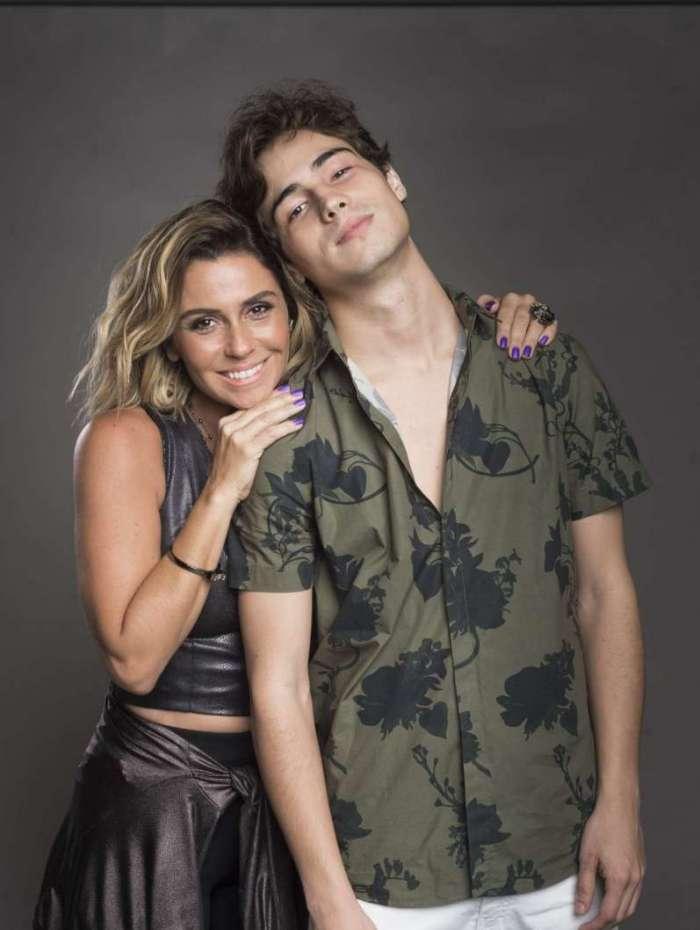 Luzia (Giovanna Antonelli) e Valentim (Danilo Mesquita)