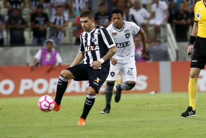 Ceará e Botafogo ficaram no 0 a 0