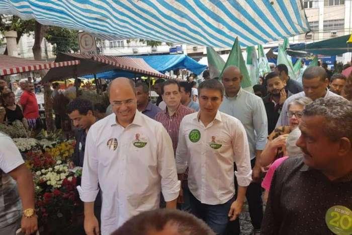 Governador Wilson Witzel e secretário Pedro Fernandes defendem promessa de campanha