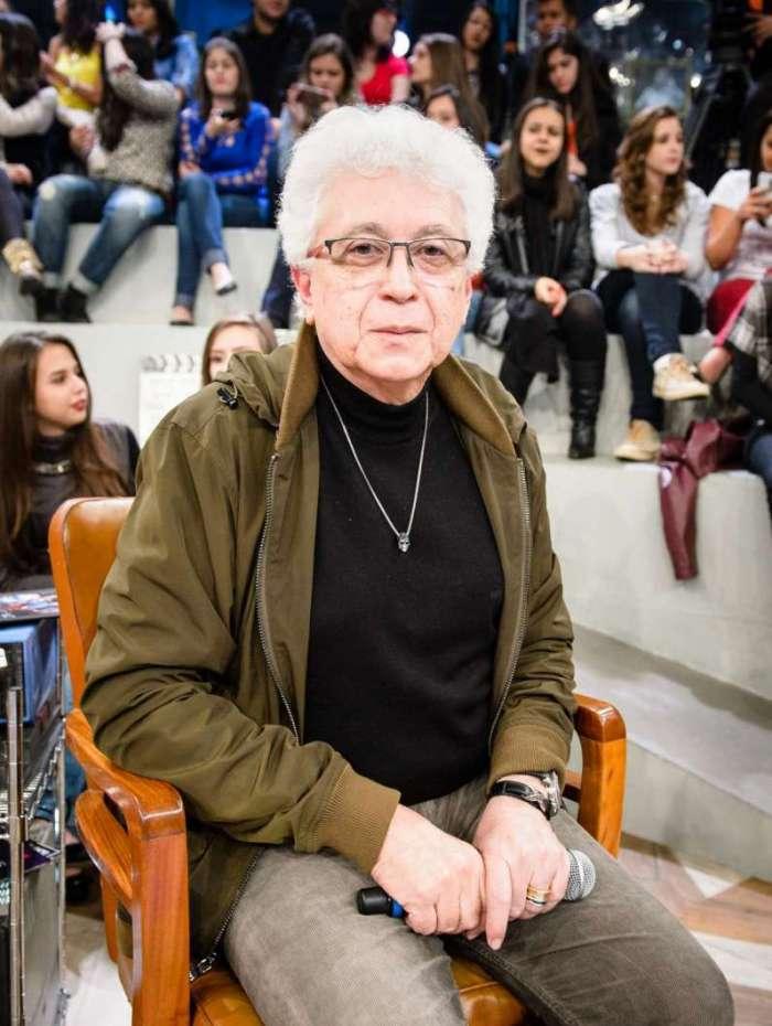 Aguinaldo Silva, autor da novela O Sétimo Guardião