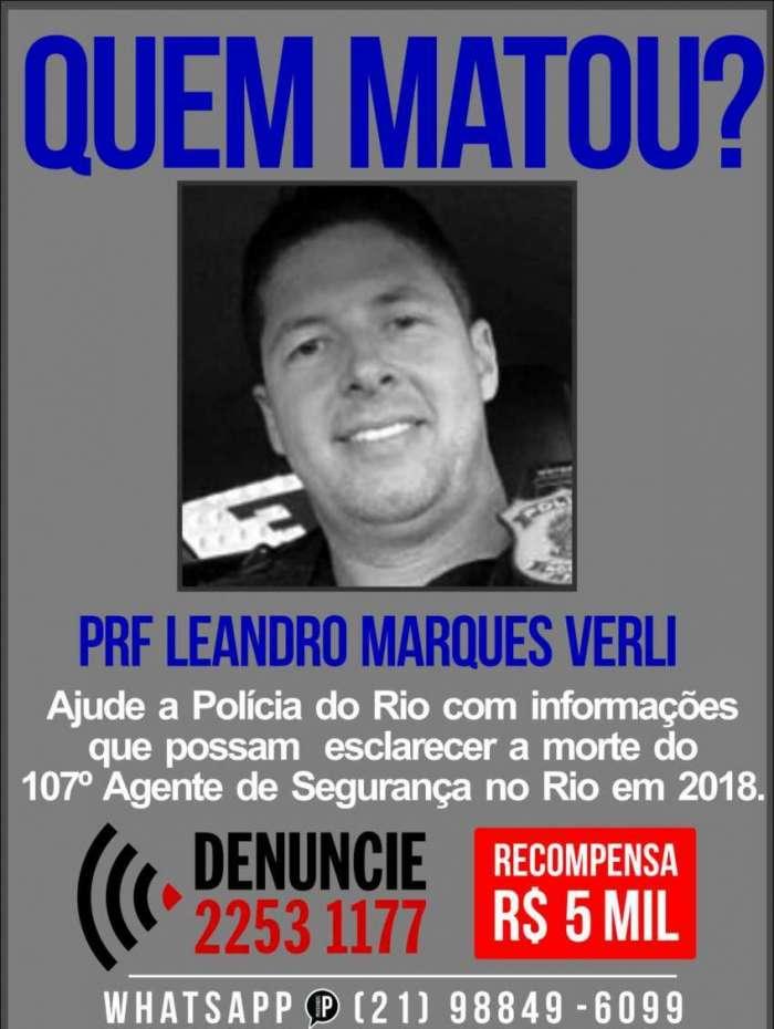 Portal pede informações para identificar quem matou agente da PRF