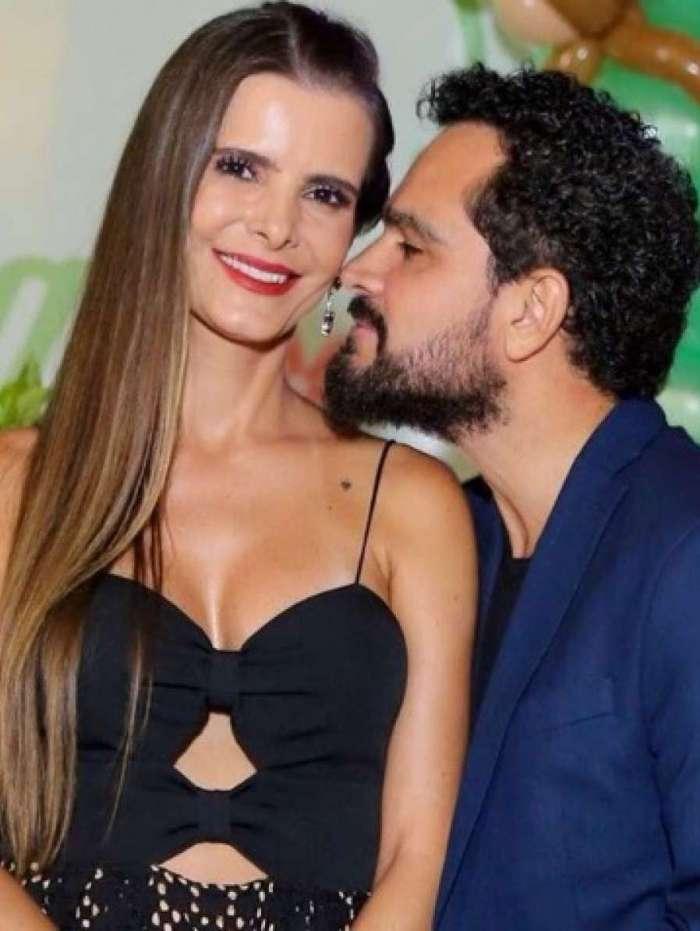 Luciano Camargo e Flávia Fonseca