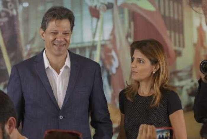 Candidato à Presidência, Fernando Haddad (PT) participou na quarta-feira de encontro com lideranças evangélicas em São Paulo