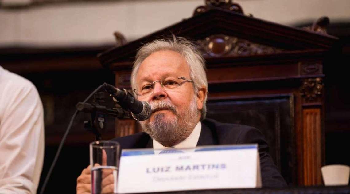 Luiz Martins (PDT) é líder do seu partido na Alerj e foi reeleito este ano. Recebia R$ 80 mil por mês, além de R$ 1,2 milhão para campanha em 2014, diz o MPF