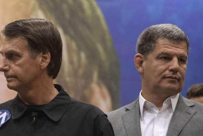 Jair Bolsonaro e Gustavo Bebianno