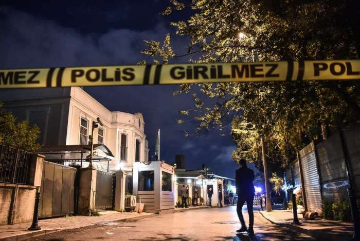 Residência do cônsul saudita na Turquia