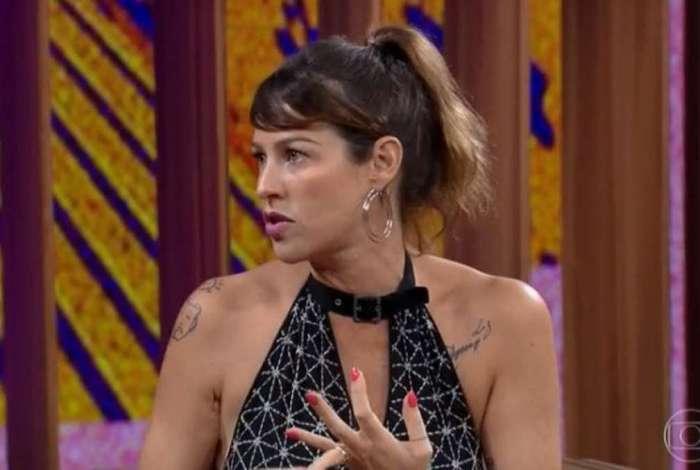 Luana Piovani participa do 'Programa com Bial'