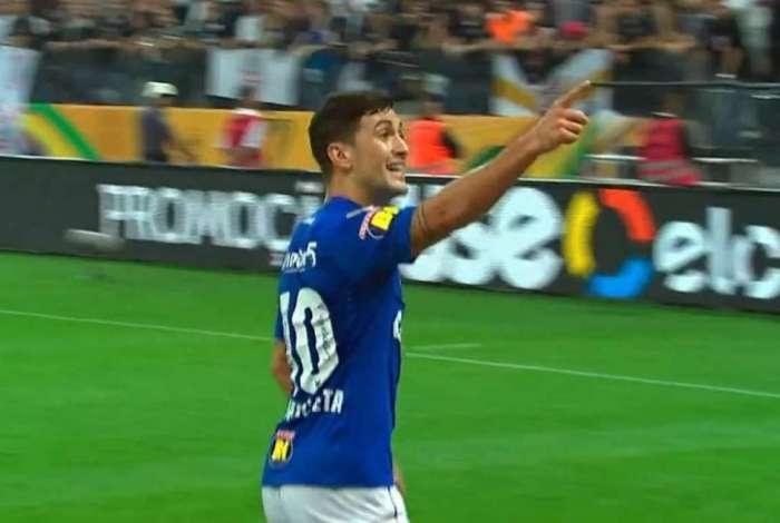 Uruguaio Arrascaeta marcou o gol do título do Cruzeiro na Copa do Brasil