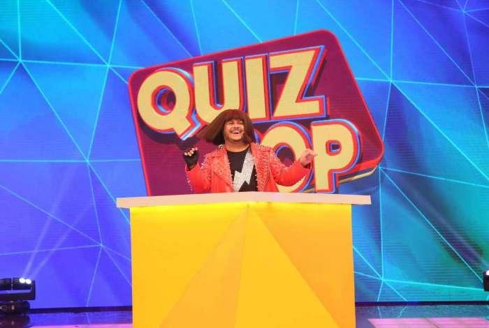 Ferdinando (Marcus Majella) no comando do 'Ferdinando Show - O Game'