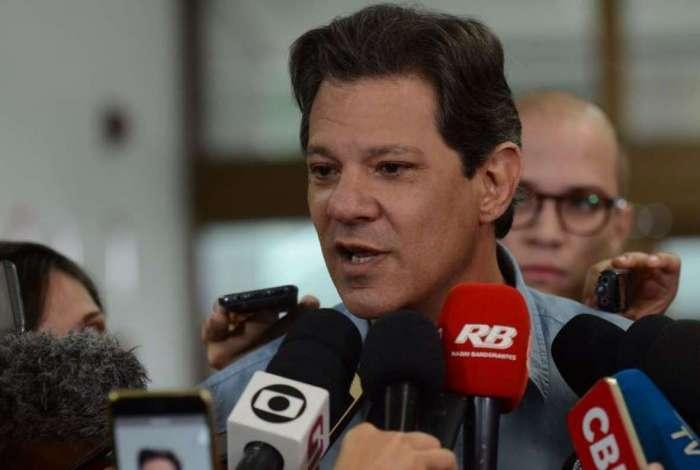 TSE negou pedido da campanha de Fernando Haddad (PT) para suspender uma inserção televisiva do candidato Jair Bolsonaro (PSL)