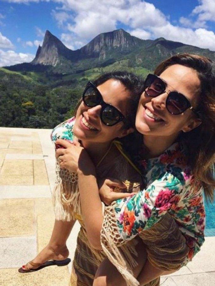 Wanessa Camargo faz homenagem a irmã