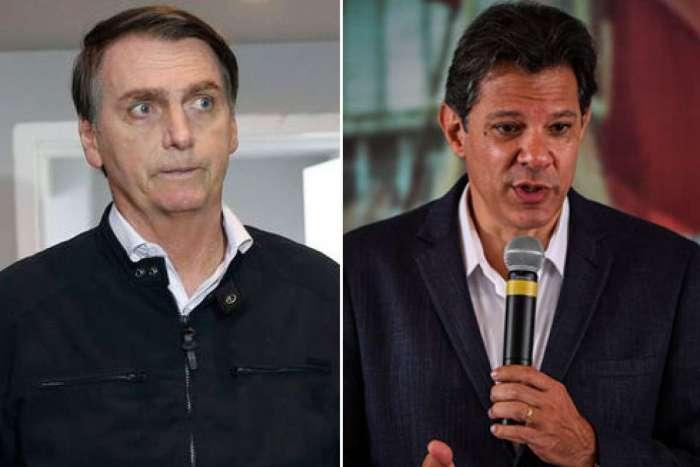 TV Globo cancelou debate entre Bolsonaro e Haddad