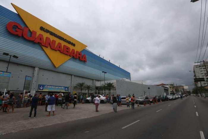 Supermercados Guanabara contrata em três unidades do Rio