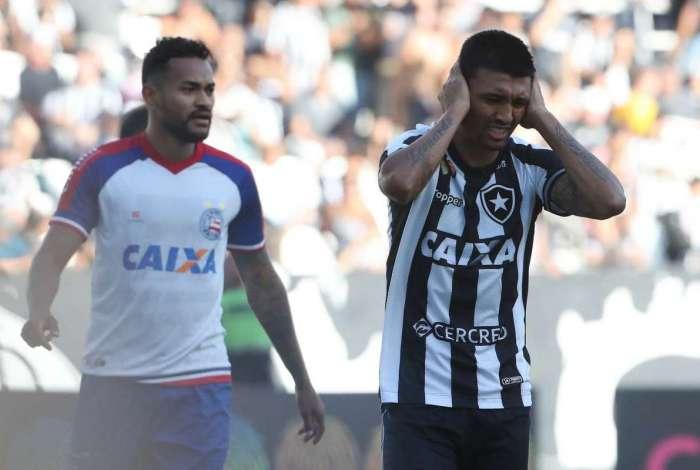 Botafogo perdeu para o Bahia