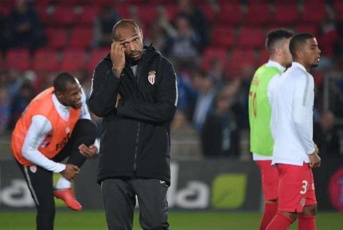 Henry assistiu derrota do Monaco