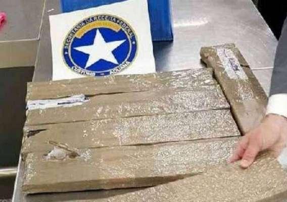 Mais de dez quilos de MDMA são encontrados em malas no Galeão