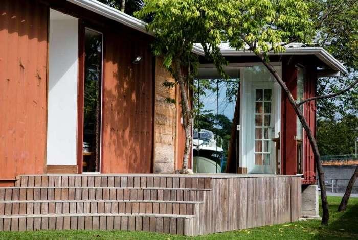 Casas contêineres viram opção para quem quer economizar na construção