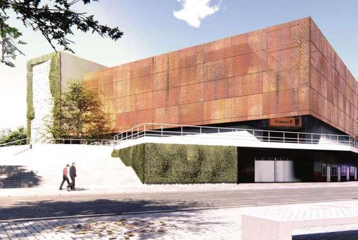 Parque terá piscinas, quadras poliesportivas e campo de futebol