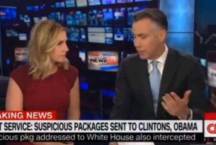 Redação da rede de TV americana CNN é evacuada por pacote suspeito