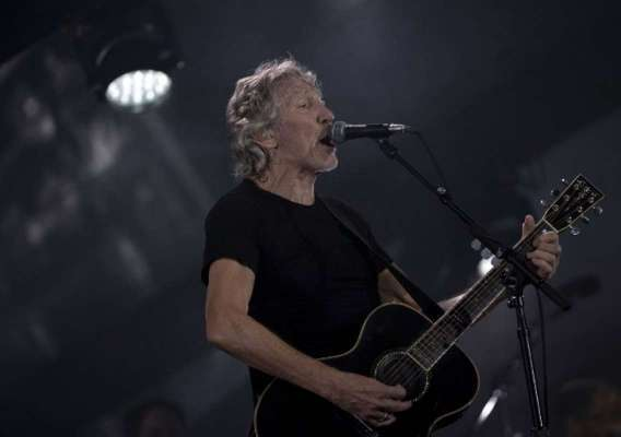 Roger Waters durante show no estádio do Maracanã