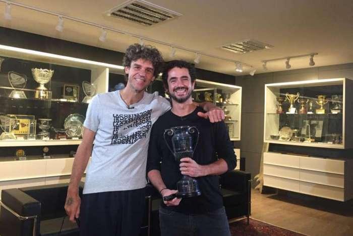 Guga e Felipe Andreoli