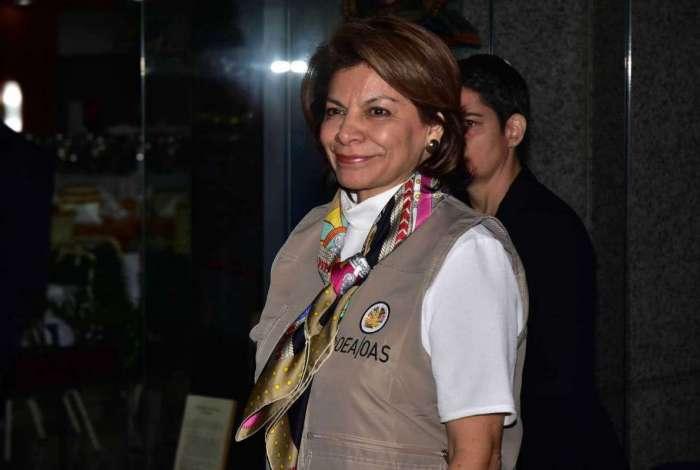 Laura Chichilla é presidente da missão de observadores da Organização de Estados Americanos (OEA) para as eleições brasileiras e ex-presidente da Costa Rica