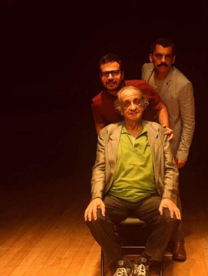 Pedro Garcia, Benvindo Sequeira e Alexandre Lino