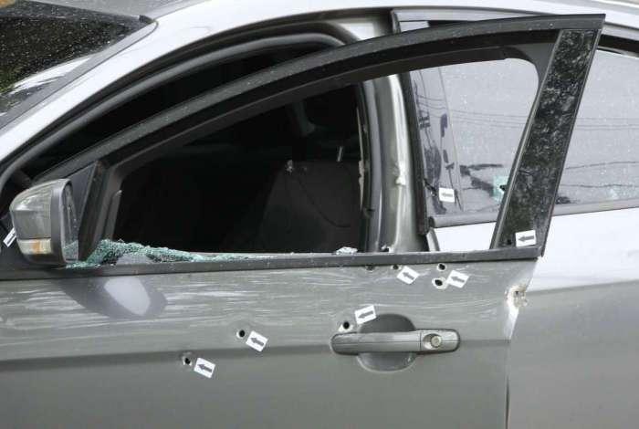 DH realiza perícia após morte de policial civil