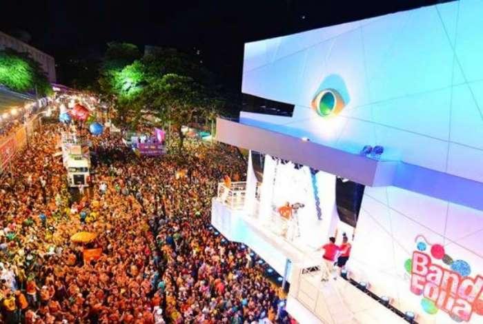 Carnaval da Band em Salvador