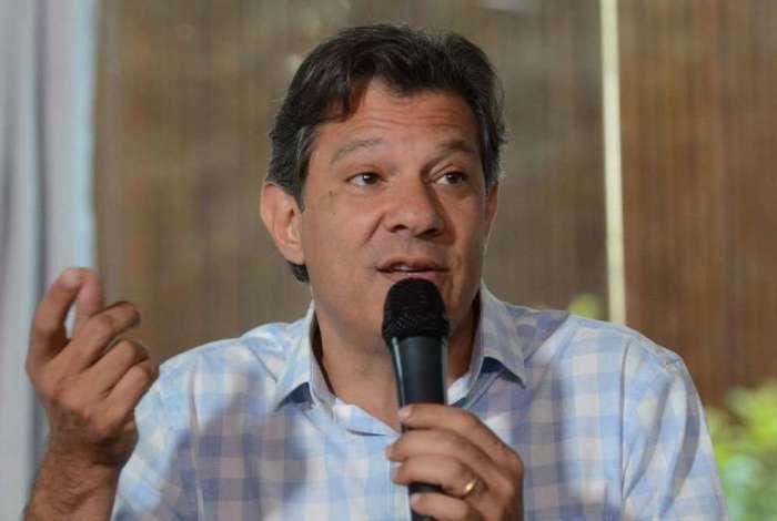 Fernando Haddad mirou o presidente Jair Bolsonaro. Disse a aliados que ele só respeita as milícias, e que dia sim, outro também, fala besteiras