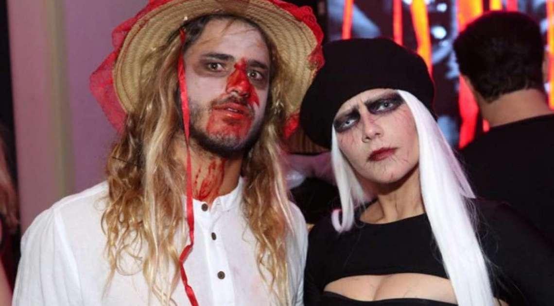 Isabela Santoni e o namorado