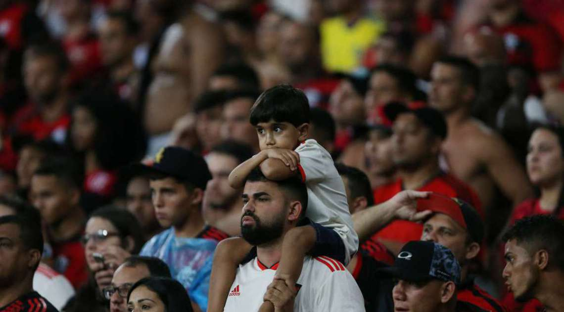 Flamengo e Palmeiras empatam no Maracanã