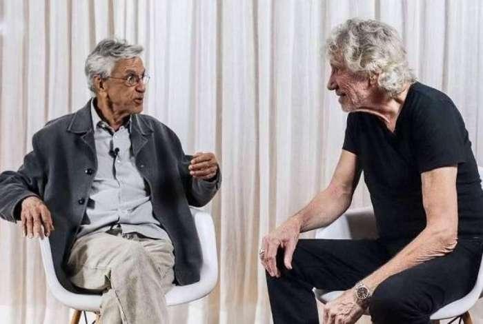 Caetano Veloso e Roger Waters