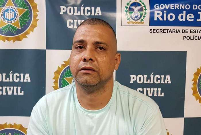 Roberto Carlos Tomaz foi preso em Vila Isabel