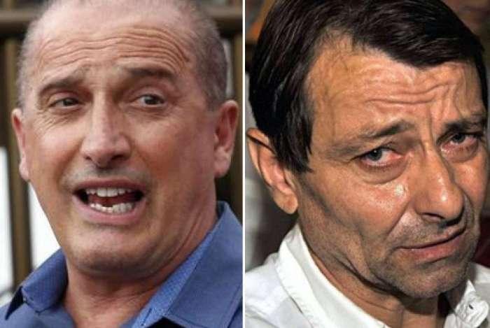 Onyx Lorenzoni e Cesare Battisti