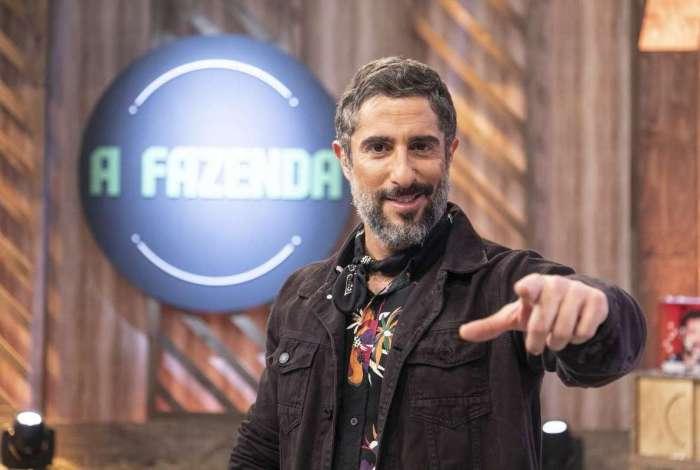 Marcos Mion em 'A Fazenda', da Record TV