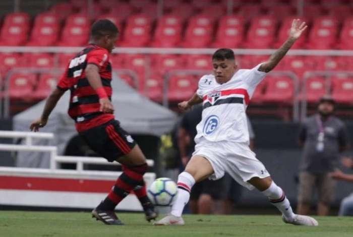 Flamengo derrotou o São Paulo no Sub-17