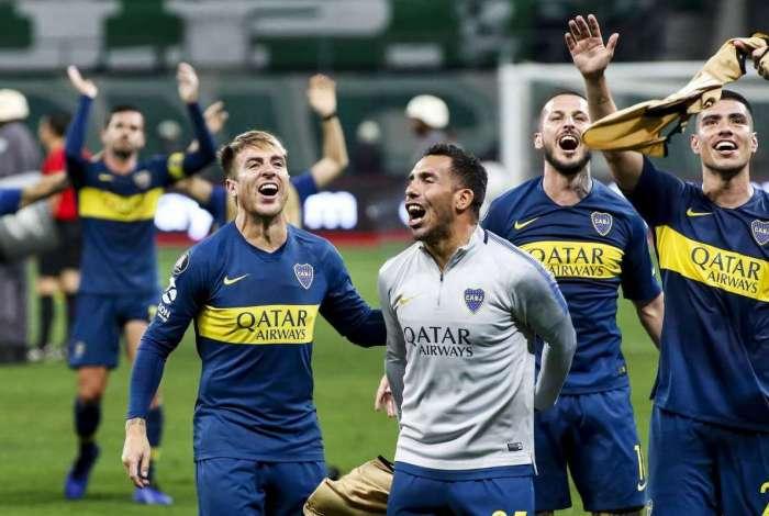 Boca eliminou o Palmeiras