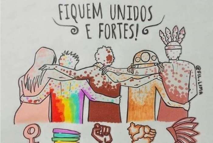 Viola Davis declara apoio aos fãs brasileiros por meio de postagem no Instagram