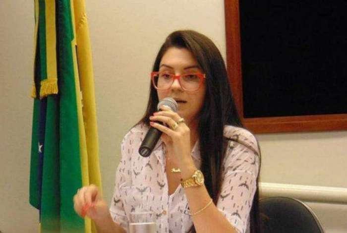 Deputada estadual eleita Ana Caroline Campagnolo (PSL)