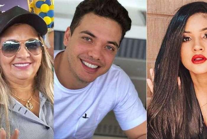 Dona Bill, Wesley Safadão e Mileide Mihaile