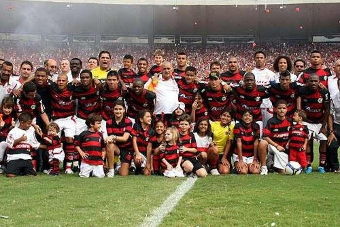 Flamengo foi campeão brasileiro em 2009